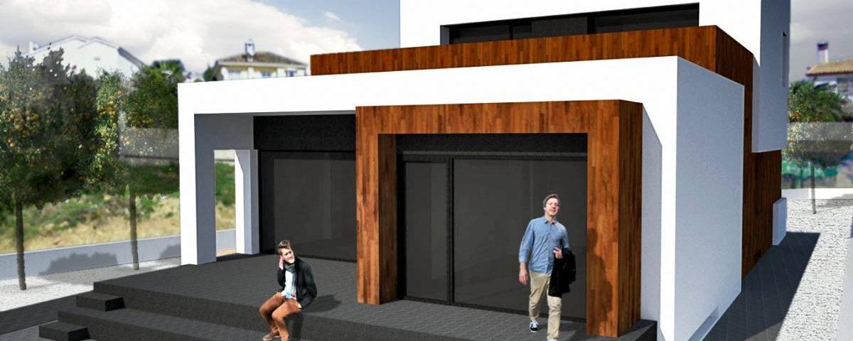 Proyecto para una nueva vivienda costa del sol pulpillo for Coste construccion vivienda unifamiliar